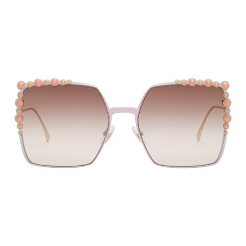 FENDI Pink & Gold 'Can Eye' Sunglasses
