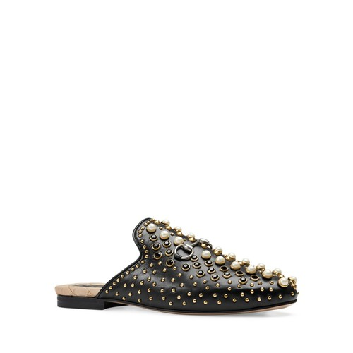 GUCCI Princetown Studded Slippers