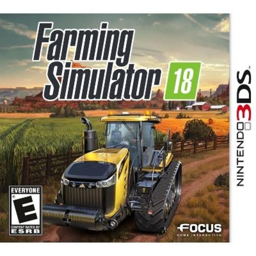Farming Simulator 18 - Nintendo 3DS [Disc, Nintendo 3DS]