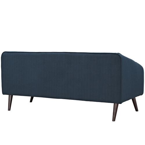 Slide Mid-Century Modern 3-Piece Living Room Set [option : Azure - Price in Cart]