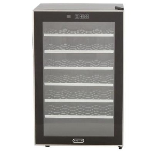 Whynter 28-Bottle Touch Control Stainless Steel Wine Cooler