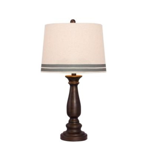 Fangio Lighting 26 in. Oil-Rubbed Bronze Table Lamp
