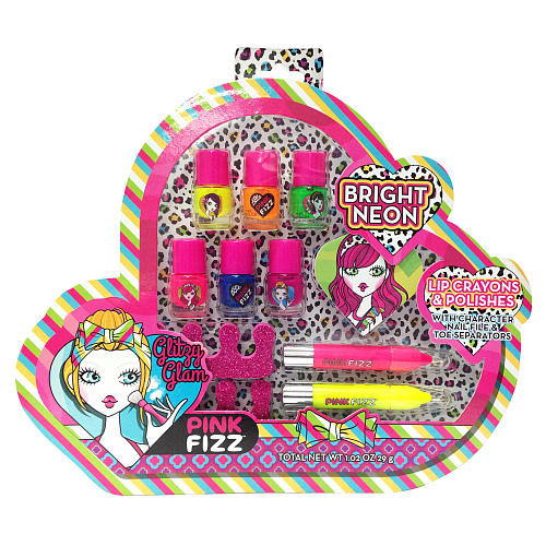 Pink Fizz Cosmetics Neon Electric Set
