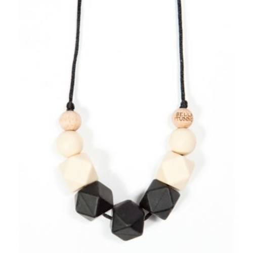 Bella Tunno 24-Inch Teething Necklace in Black