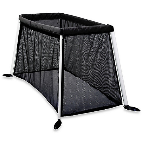 phil & ted's Traveller Porta-Cot in Black