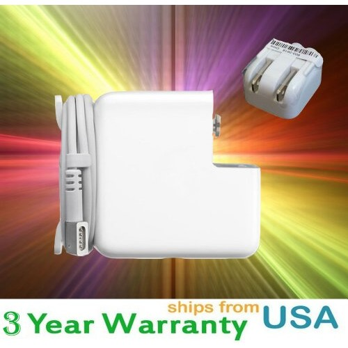 Apple MagSafe Power Adapter for MacBook Air - MB283LL/A - AC 100-240 V - 45 Watt