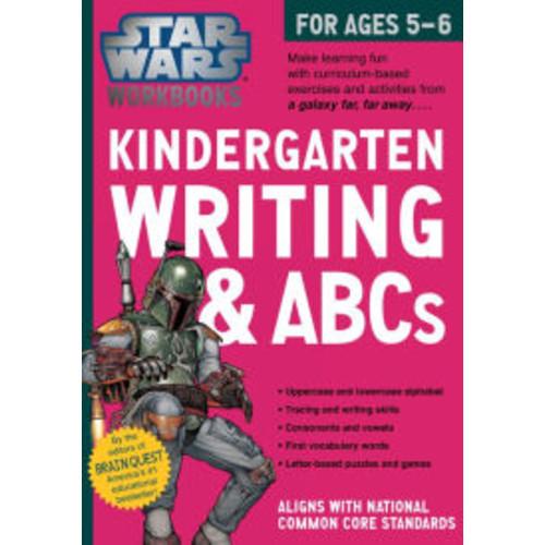 Star Wars Workbook: Kindergarten Writing and ABCs!