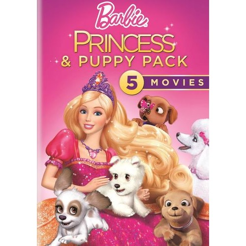 Barbie Princess and Puppy Pack [5 Discs] [DVD]