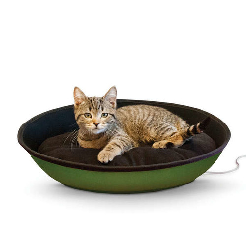 K&H Thermo-Mod Sleeper Pet Bed [option : Small-Tan/Black]