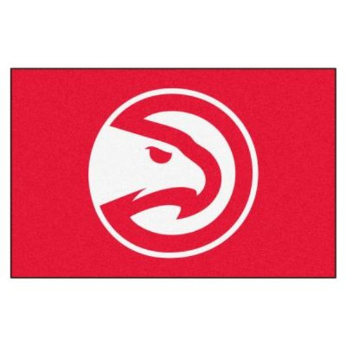 FANMATS NBA Atlanta Hawks Red 2 ft. x 3 ft. Area Rug