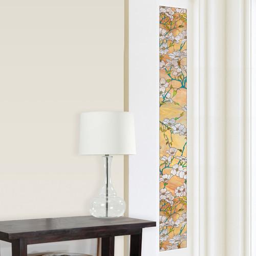 Brewster Home Fashions Window Decor Dogwood Sidelight Window Film
