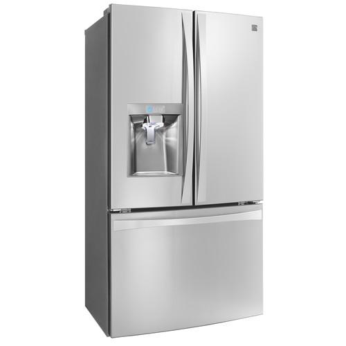 Kenmore Elite 75043 24 cu. ft. Smart French Door Bottom-Mount Refrigerator-Stainless