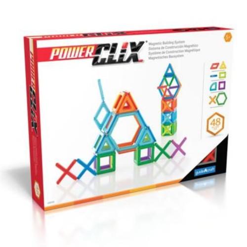 Guidecraft PowerClix Frames 48 Piece Set (GCFT6560)