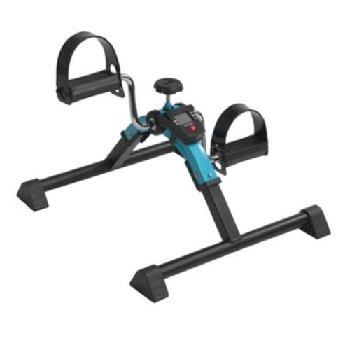 Drive Medical Folding Exercise Peddler with Digital Display in Blue