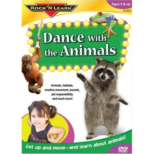 Rock 'N Learn: Dance with the Animals [DVD]