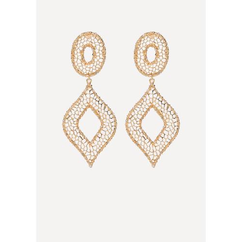 Filigree Statement Earrings