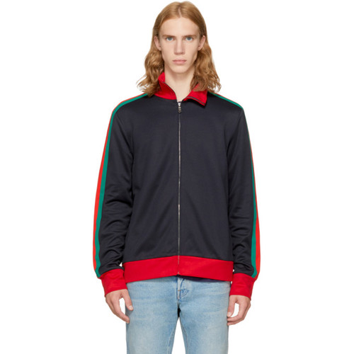 GUCCI Navy 'Modern Future' Track Jacket