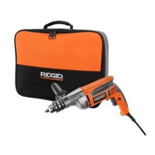 RIDGID 8-Amp 1/2 in. Heavy-Duty Variable Speed Reversible Drill