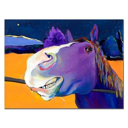 Fabio by Pat Saunders-White, 14x19-Inch Canvas Wall Art [14 by 19-Inch]