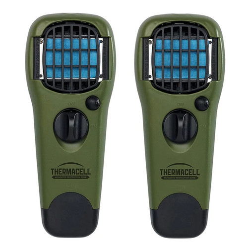 ThermaCELL Mosquito Repellent Outdoor and Camping Repeller Device, 2-Pack, Olive