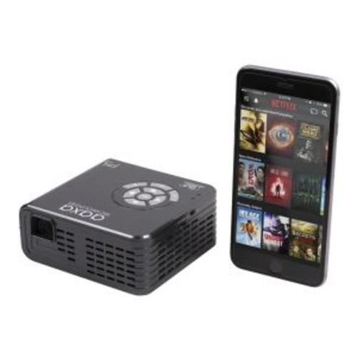 AAXA P5 Pico Projector - DLP projector - 300 lumens - 1280 x 720 - 16:9 - HD 720p (KP-800-01)