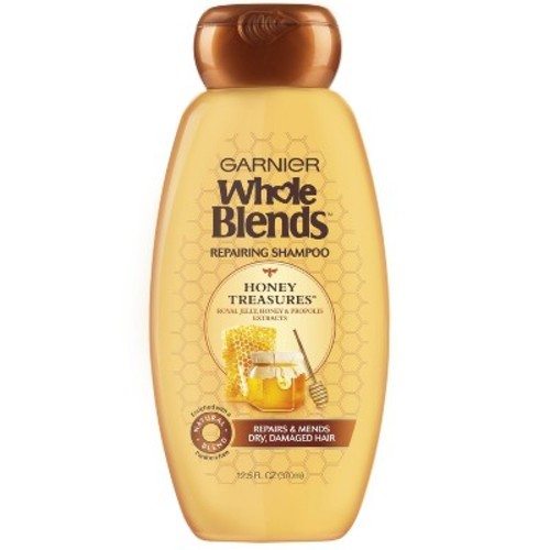Garnier Whole Blends Honey Treasures Repairing Shampoo 12.5 fl. oz. Bottle