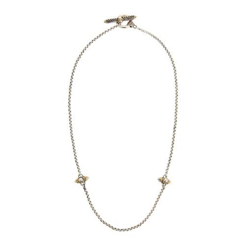 Konstantino Amphitrite Double-Pearl Chain Necklace
