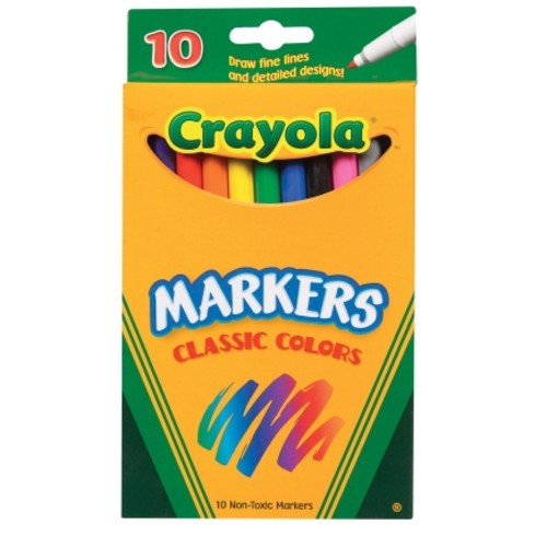 Crayola Classic Colors Washable Markers (58-7726)