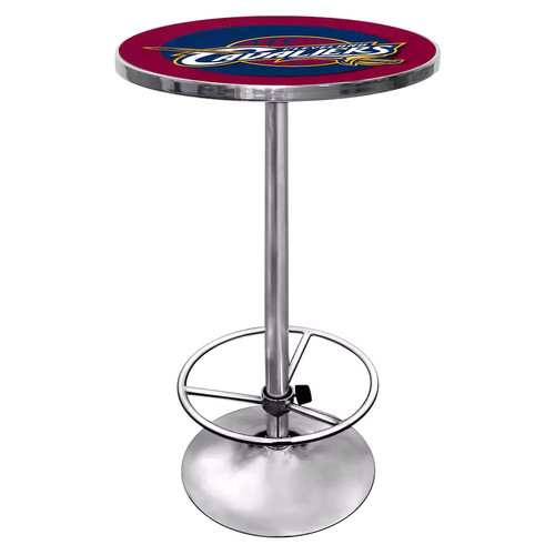 Trademark NBA Cleveland Cavaliers Chrome Pub/Bar Table
