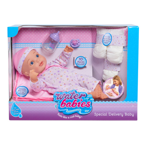Waterbabies Special Delivery 16-inch Baby Doll Set