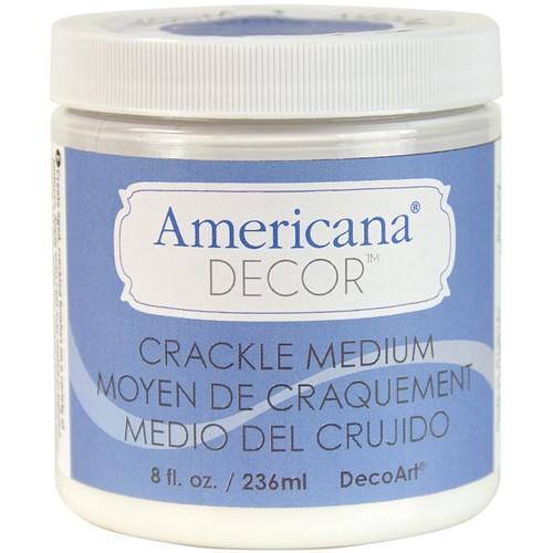 Americana Decor Crackle Medium 8oz Clear