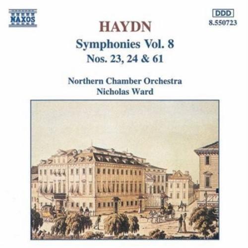 Haydn: Symphonies Vol. 8, Nos. 23, 24 & 61
