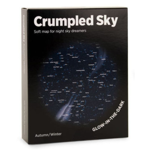 Crumpled Sky map -Autumn/Winter Sky