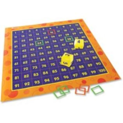 Learning Resources MAT;HIP HOPPIN HUNDREDS