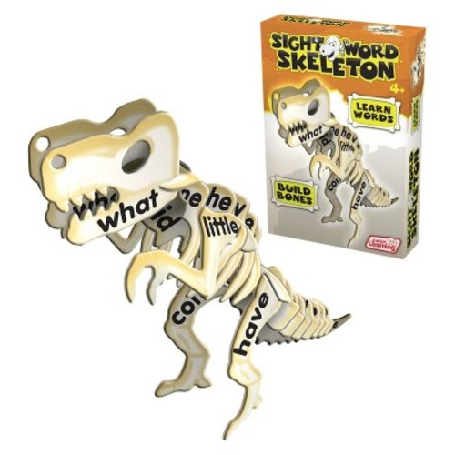 Junior Learning Sight Word Skeleton, Learn Words and Build Bones