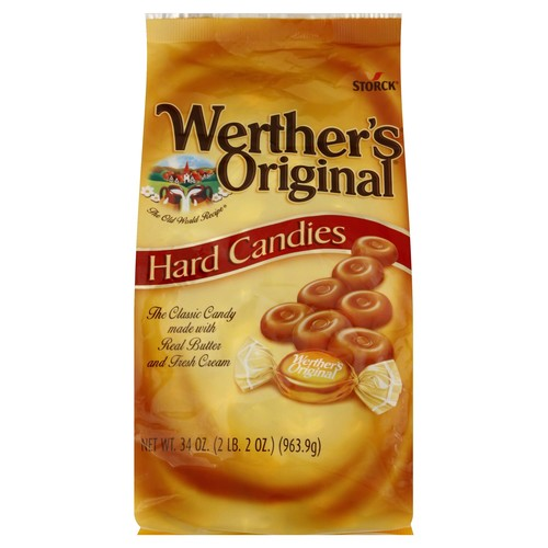 Werthers Hard Candies 34 oz (2 lb 2 oz) 963.9 g