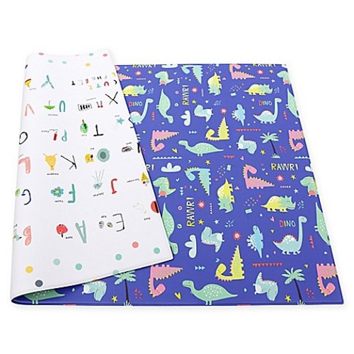Baby Care Good Dinosaur Reversible Multicolor Playmat