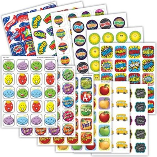 Teacher Created Resource Everyday Awards Sticker Set, 120ct per set, 12 sets (TCR9797)