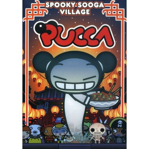 Pucca: Spooky Sooga Village (DVD) (Colorized)