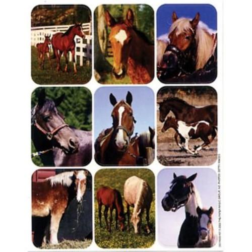 Eureka Giant Stickers, Horses