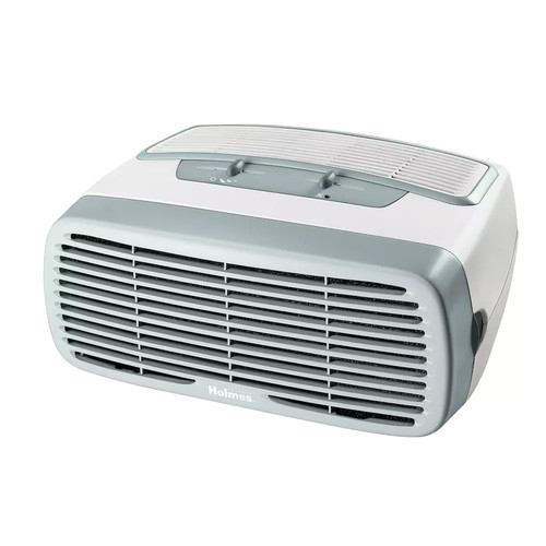 Holmes - Air Purifier - HEPA - White - White