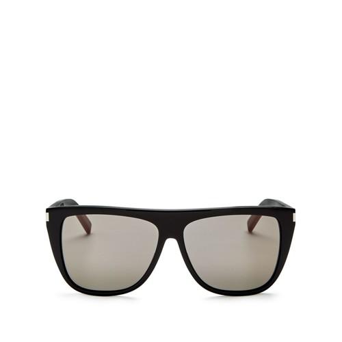 SAINT LAURENT Shield Sunglasses, 59Mm
