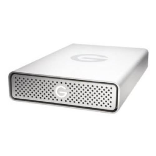 G-Technology 8TB G-DRIVE External Hard Drive - USB 3.0 Type-C, Up to 180 MB/s Data Transfer Speed, 5400 rpm, Aluminum Case - 0G05674
