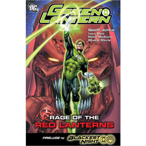 Green Lantern: Rage of the Red Lanterns (NOOK Comics with Zoom View)