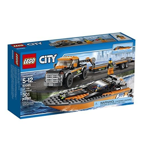 LEGO City Great Vehicles with Powerboat