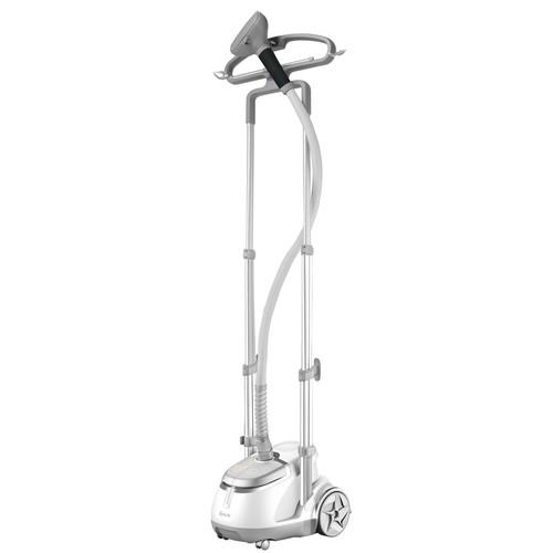 SALAV GS45-DJ-Silver Professional Series Dual Bar Garment Steamer with Foot Pedals, Silver