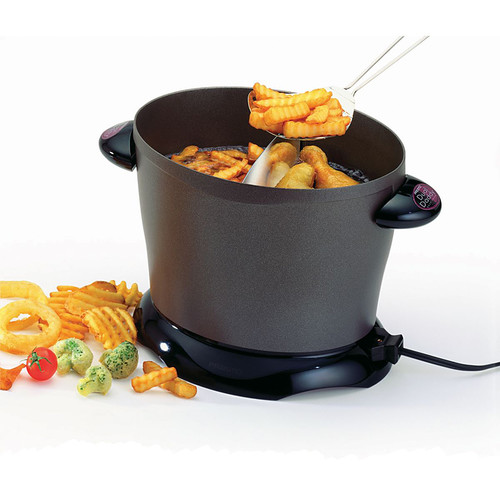 Presto 05450 DualDaddy Deep Fryer [8 cup]