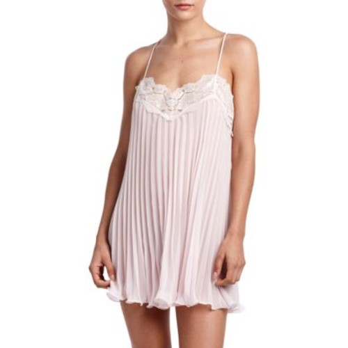 Pleated Lace Chemise