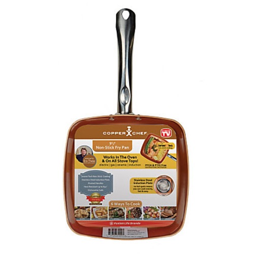Copper Chef Nonstick Square Pan, 9 1/2