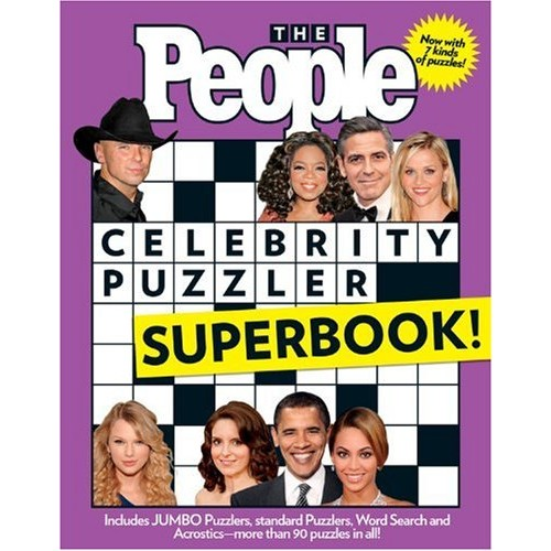 People Celebrity Puzzler Superbook